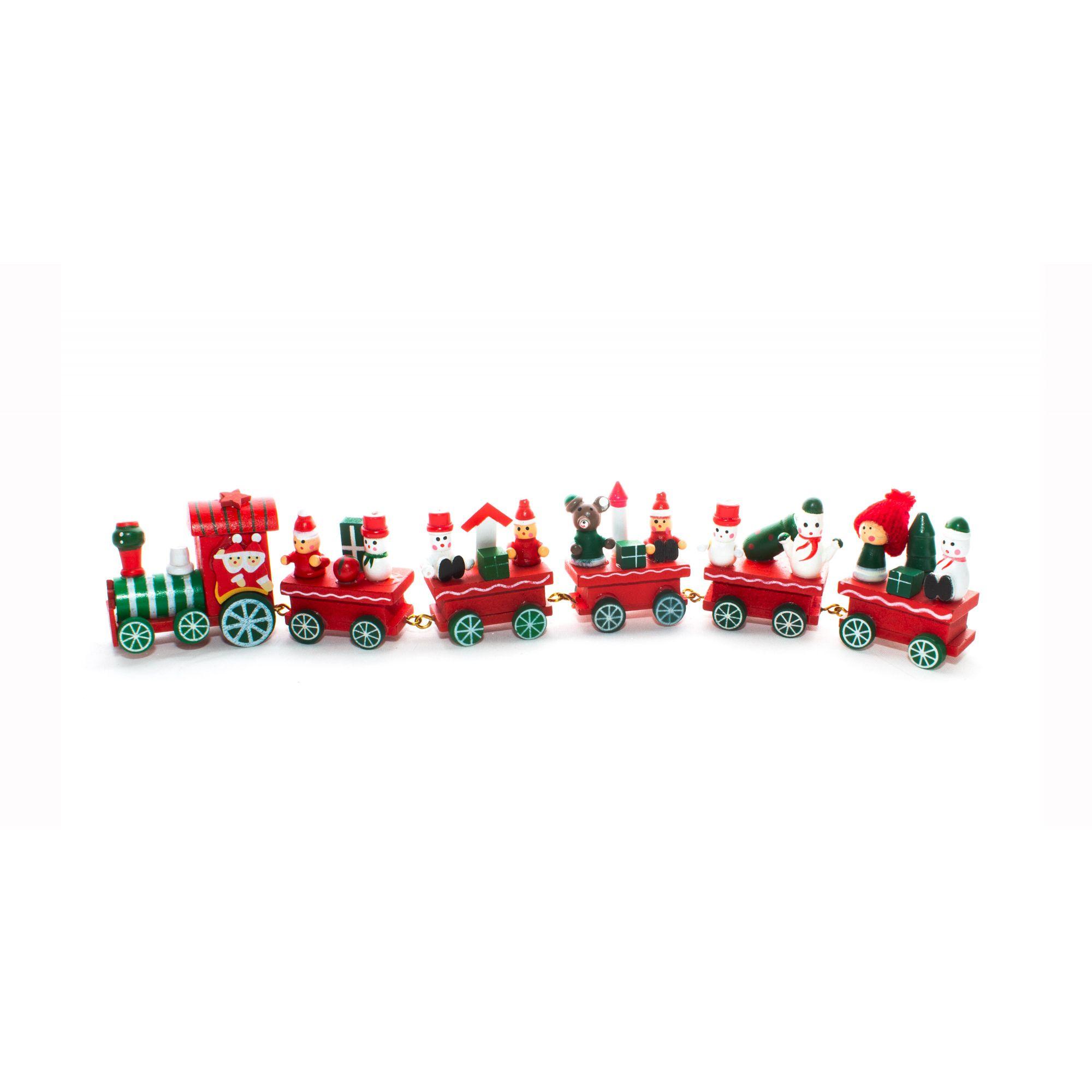 Trem Do Papai Noel - 31 Cm Largura