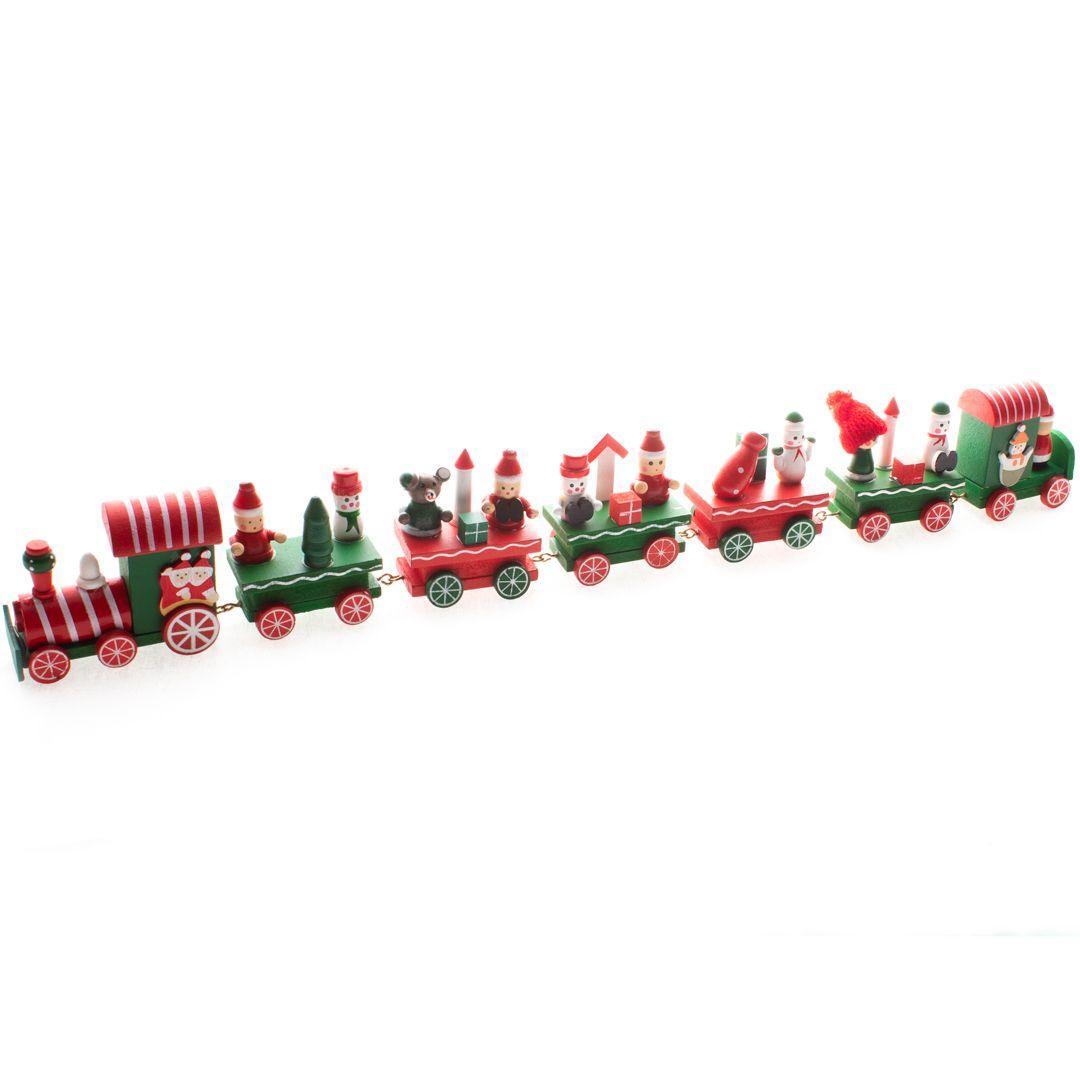 Trem Do Papai Noel - 42 Cm Largura