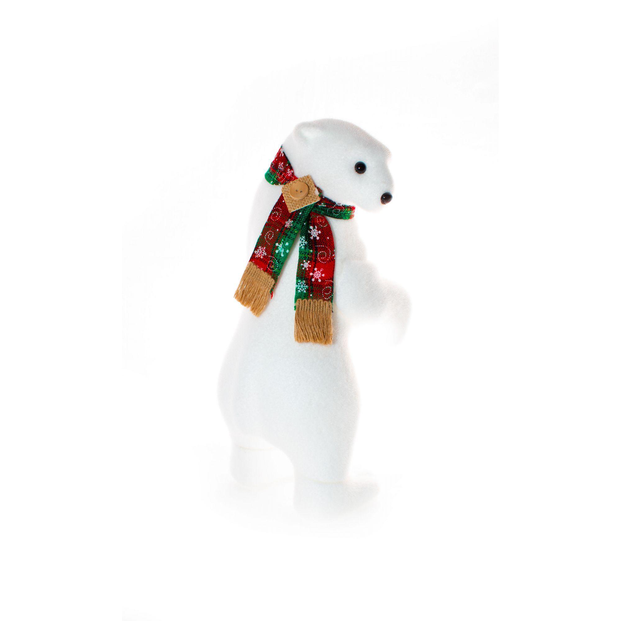Urso Polar De Lado Natalino