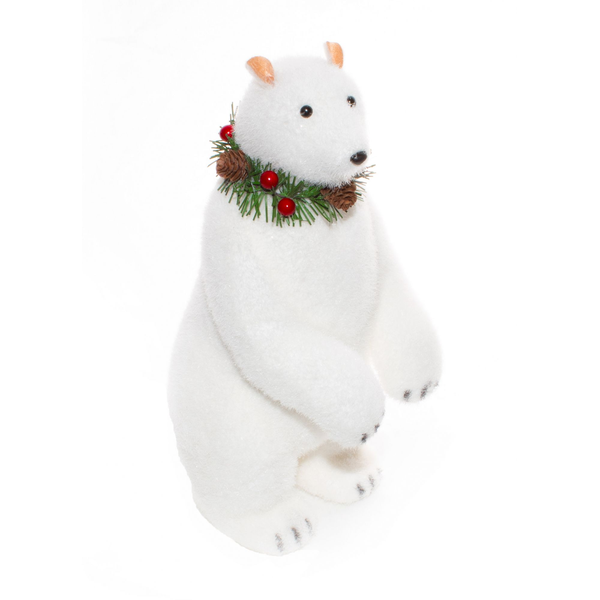 Urso Polar Natalino M - 31 Cm Altura