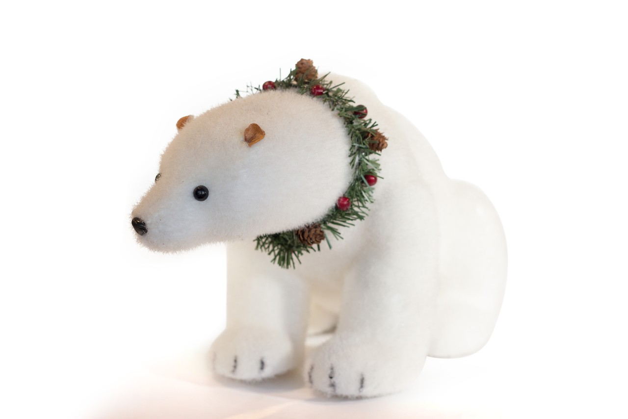 Urso Polar Natalino G - 40 Cm