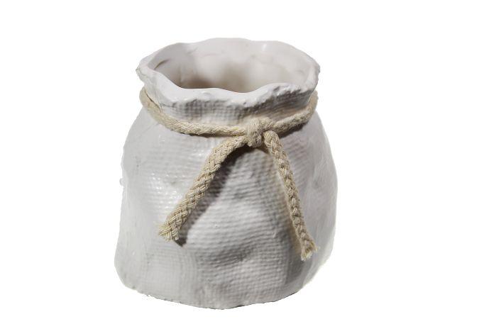 Vaso Cerâmica C/Laço - 10M