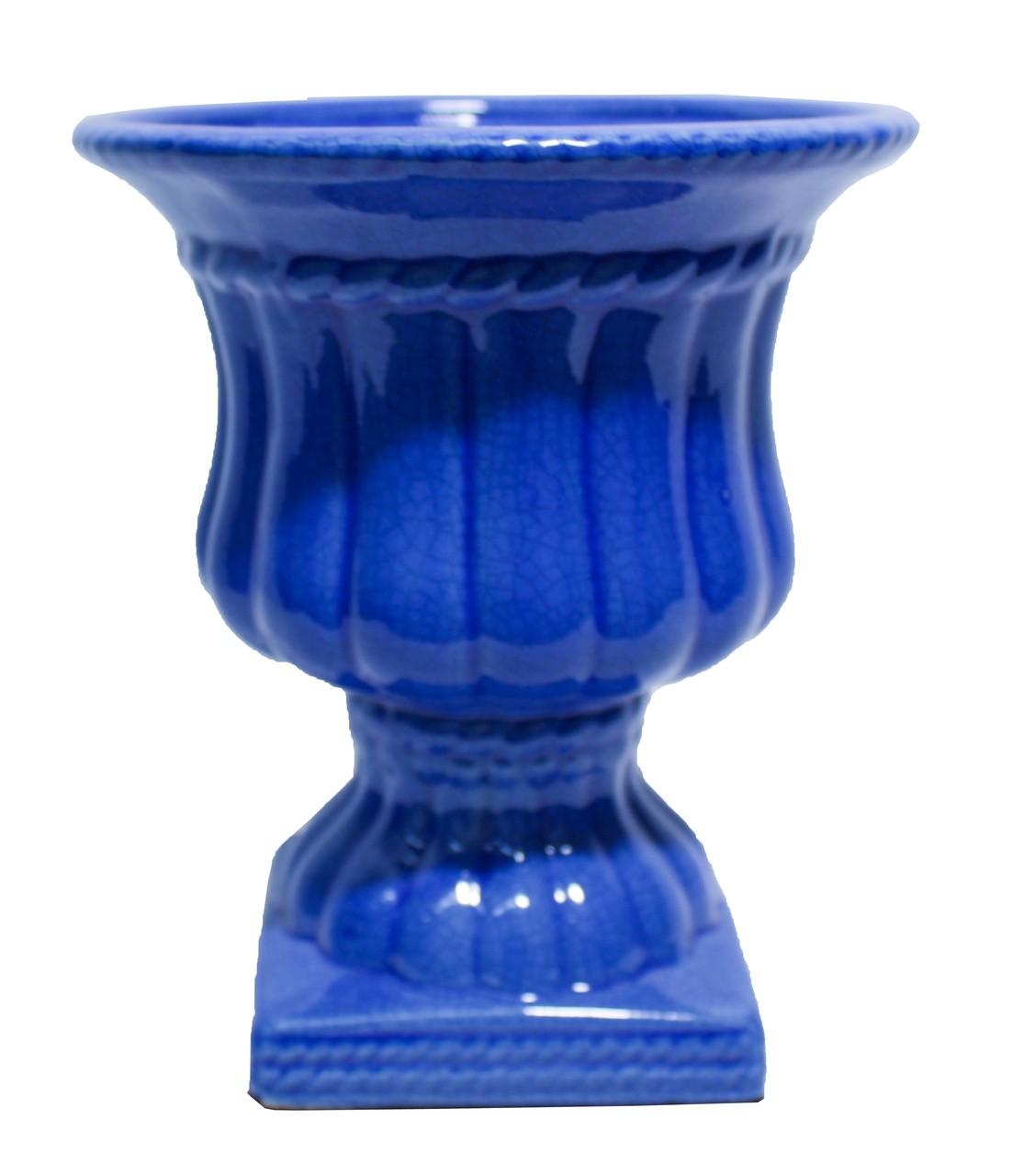 Vaso Classico Corda G Azul