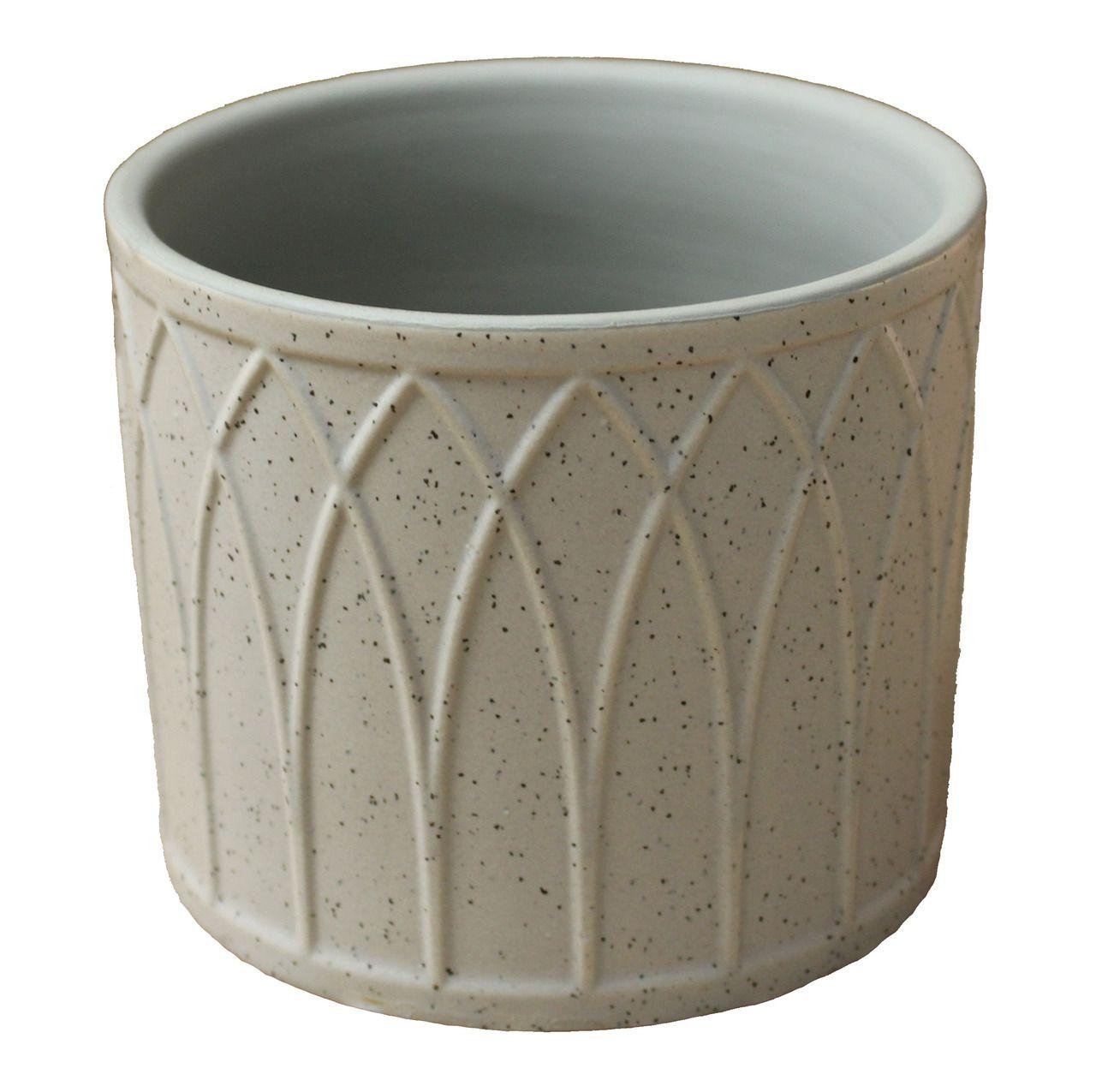 Vaso De Ceramica - 10Cm