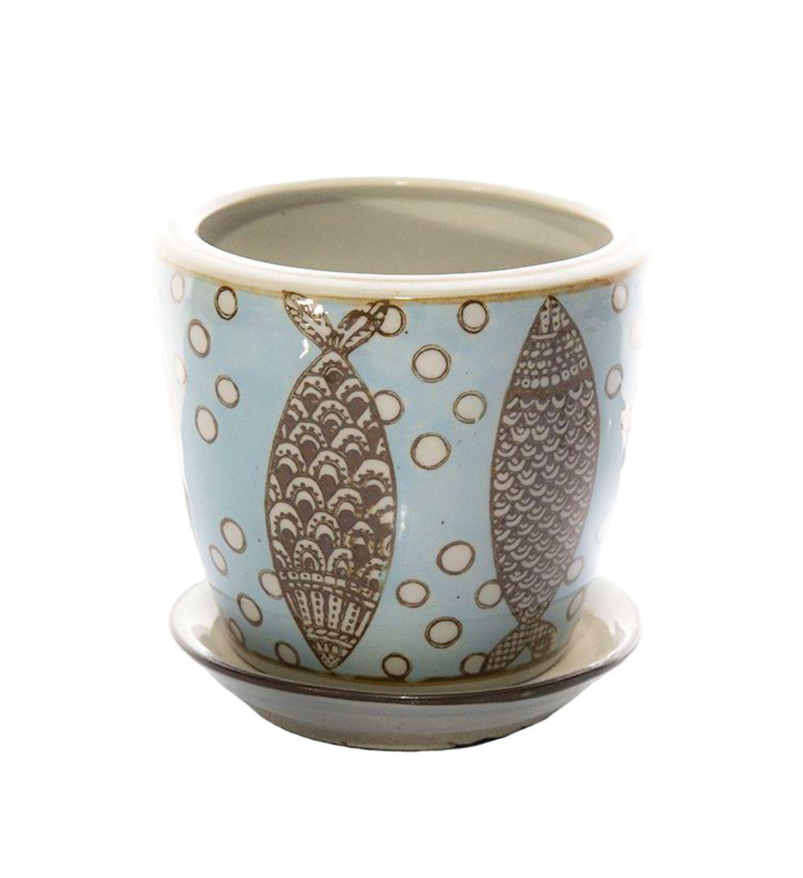 Vaso De Cerâmica Chinesa