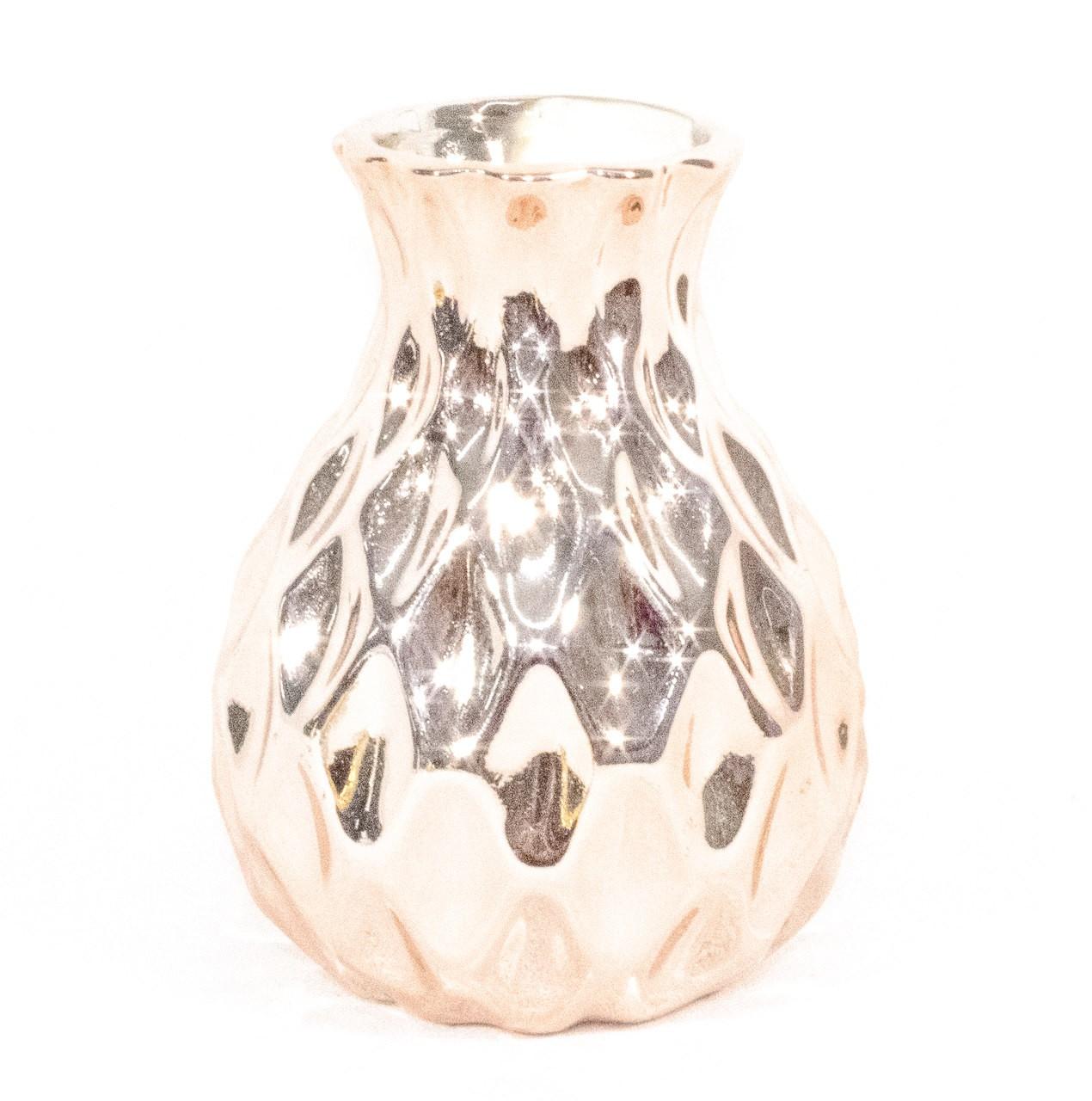 Vaso De Porcelana Rose