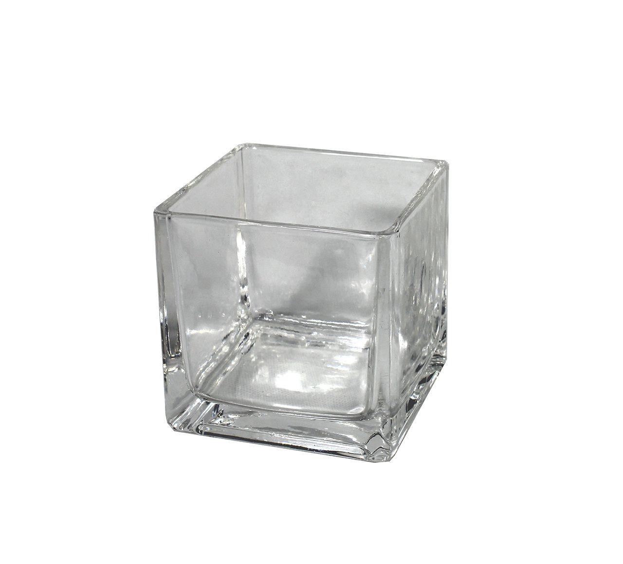 Vaso de vidro - 8cm