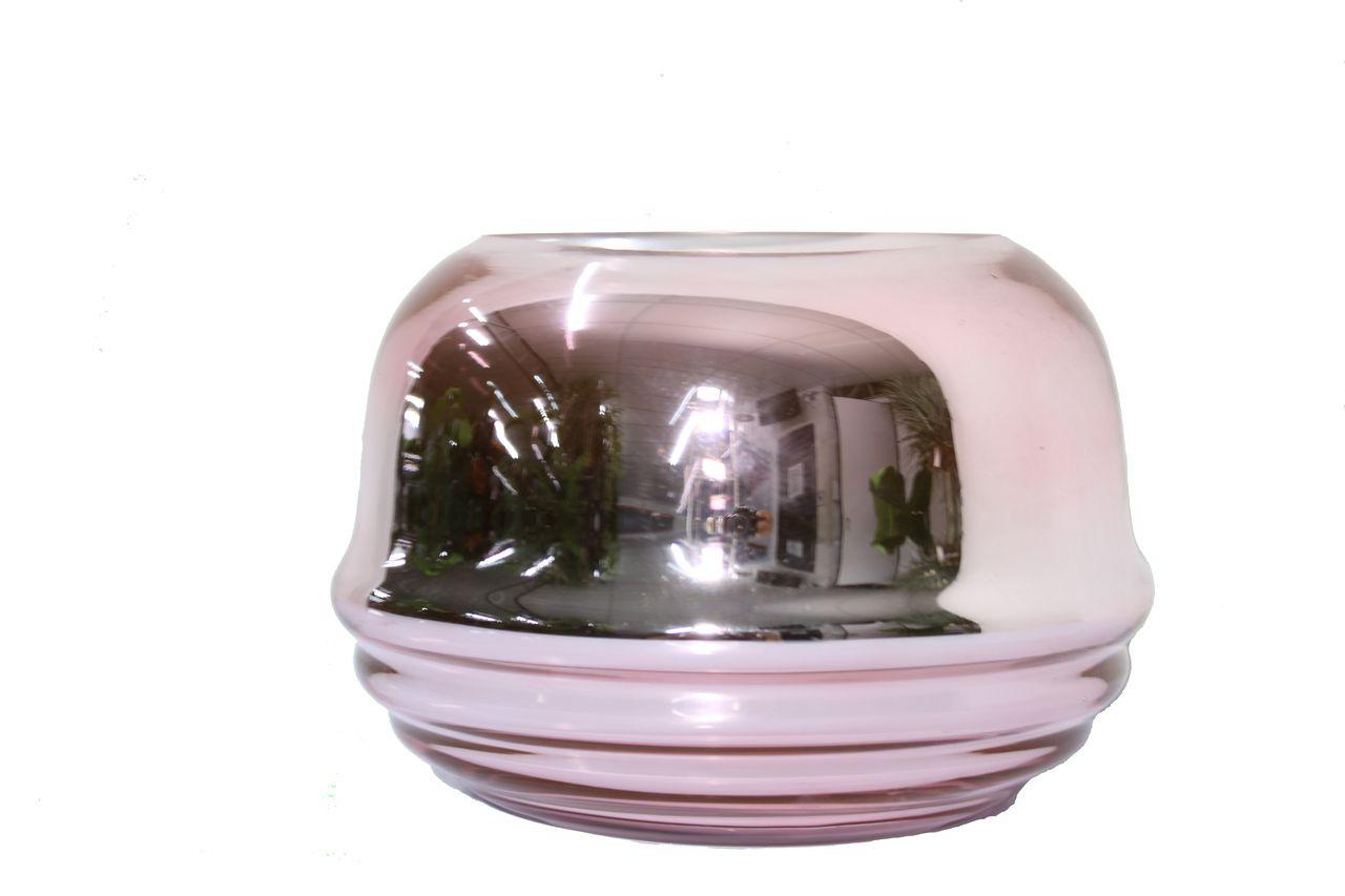 Vaso De Vidro Decorativo P