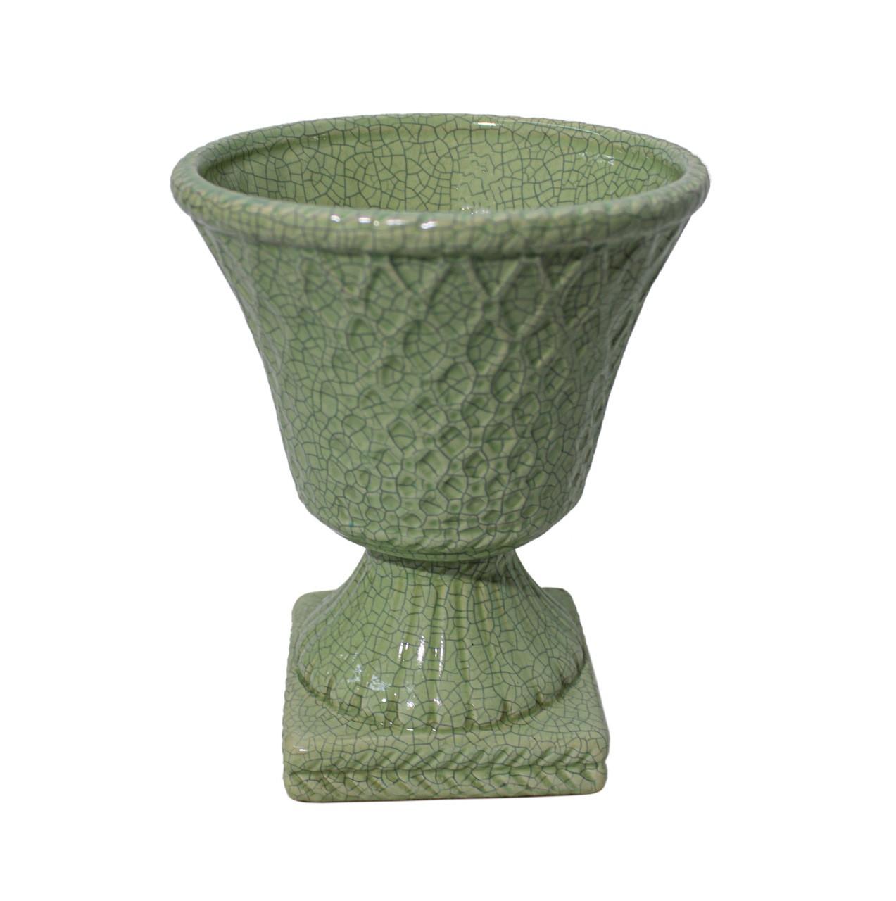 Vaso Trilica M Verde Claro
