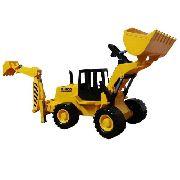 Trator Retro Escavadeira 50cm Rl1600 Silmar Ref. 6086