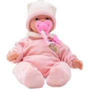 Boneca Bebe Carinhas Expressões Faciais 45cm Baby Brink 1830