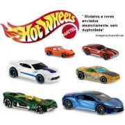 Hot Wheels kit com 6 carrinhos metal colecionáveis C4982