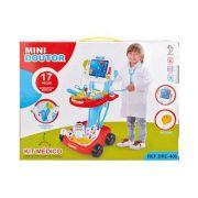 Kit Médico Doutor Infantil Som E Luz Fênix Rosa ou Azul