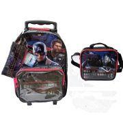 Kit Vingadores End Game com Mochila + Lancheira + Estojo DMW 11623