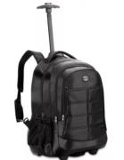 Mochila Com Rodas Executiva Notebook Viagem Preta ML8045 Clio