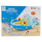 Navio Pesqueiro 2 em 1 Cozinha & Pesqueiro Educativo 27 peças Fênix PCZ-373