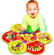 Tapete Infantil Educativo Com Sons E Luzes Polibrinq