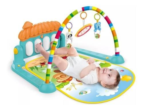 Tapete de Atividades Piano Ginásio do Bebê Divertido Kitstar 610