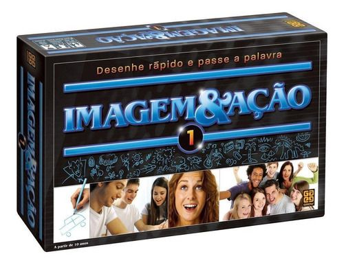 Jogo De Tabuleiro Imagem & Ação 1 Grow 1708 Original