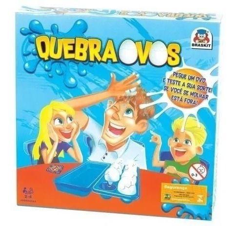 Jogo Quebra Ovos Braskit 070-6 Diversão E Sorte