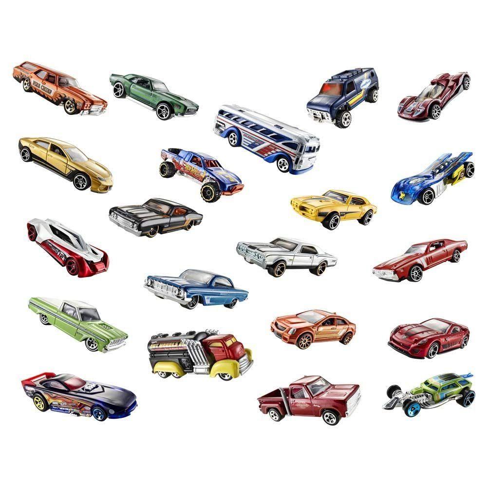 Carrinhos Hot Wheels 12 peças C4982 colecionáveis originais sem duplicidade