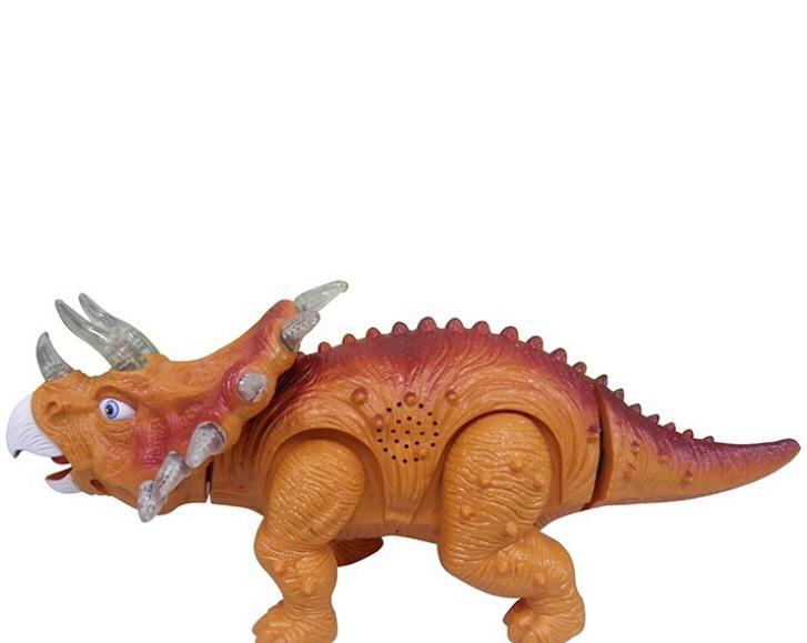 Dinossauro Triceratops Som Luz Zoop Toys ZP00161