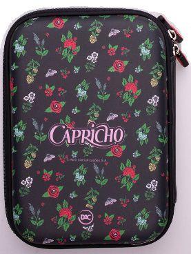 Estojo Capricho Botânico Box Escolar 2020 DAC 2867