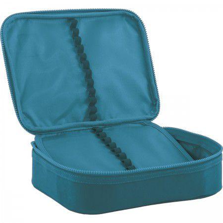 Estojo Escolar Box Académie Tilibra com Ziper Cores Sortidas