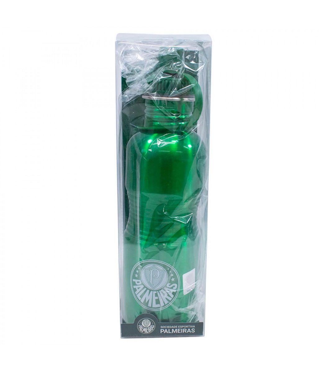 Garrafa Squeeze Inox Palmeiras 750ml YF039A1-3 com Bico