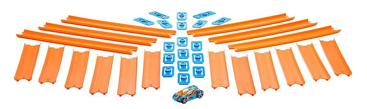 Hot Wheels Conjunto Pista Conexão 4,5m com 1 carrinho Mattel BHT77