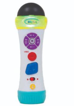 Microfone Musical Canta E Grava +12m Buba