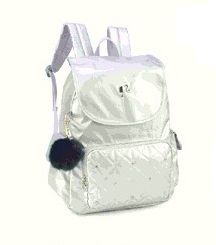 Mochila Barbie Metalizada p/laptop Maxlog MJ48531BB ouro/prata