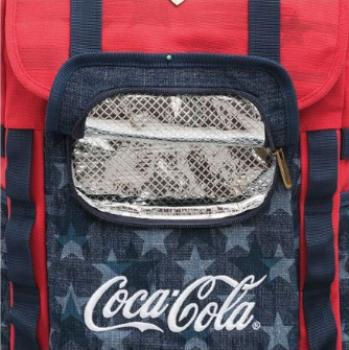 Mochila Coca-Cola American Flag grande Pacific 711470