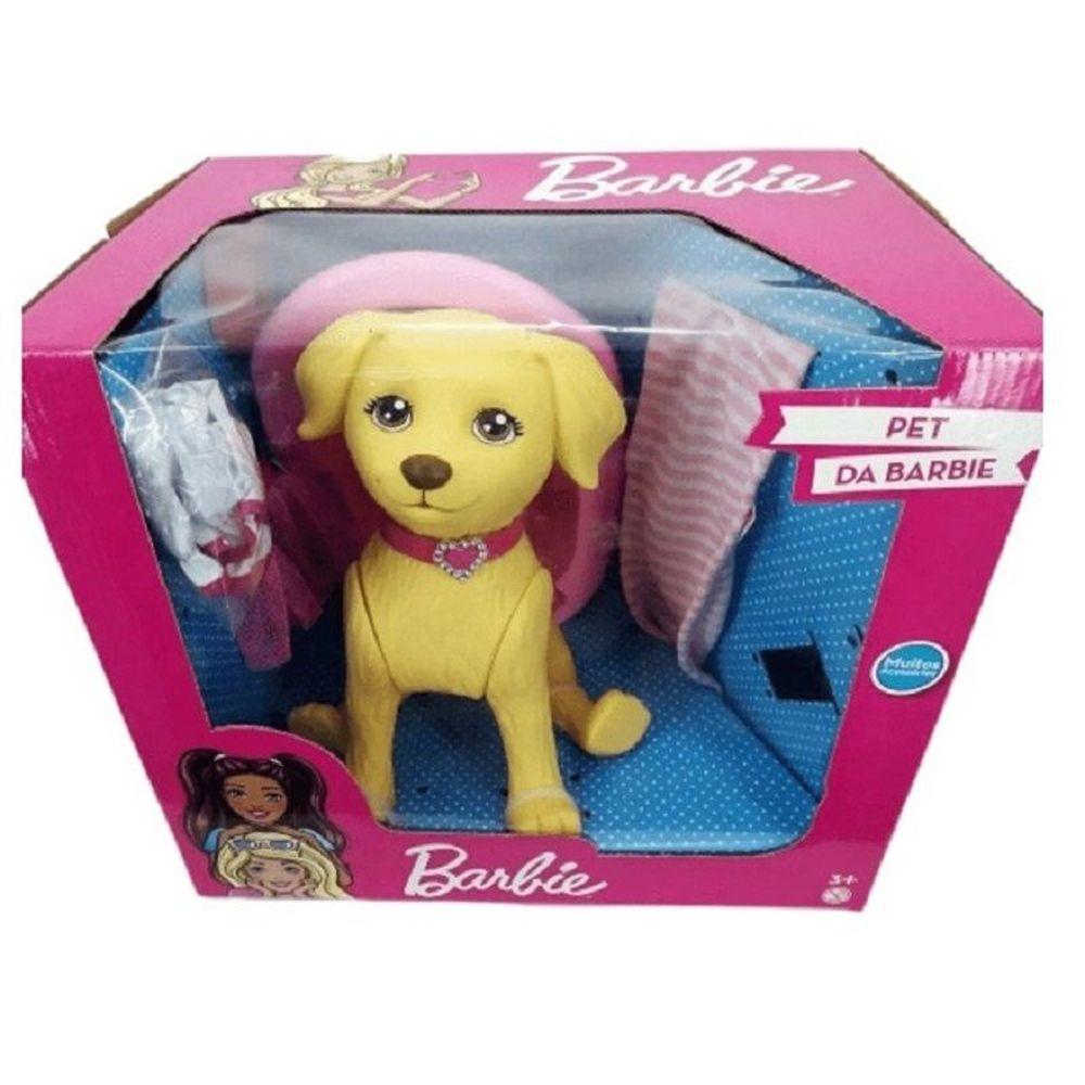 Pet Shop da Barbie Cachorro Taff 25cm Pupee 1257