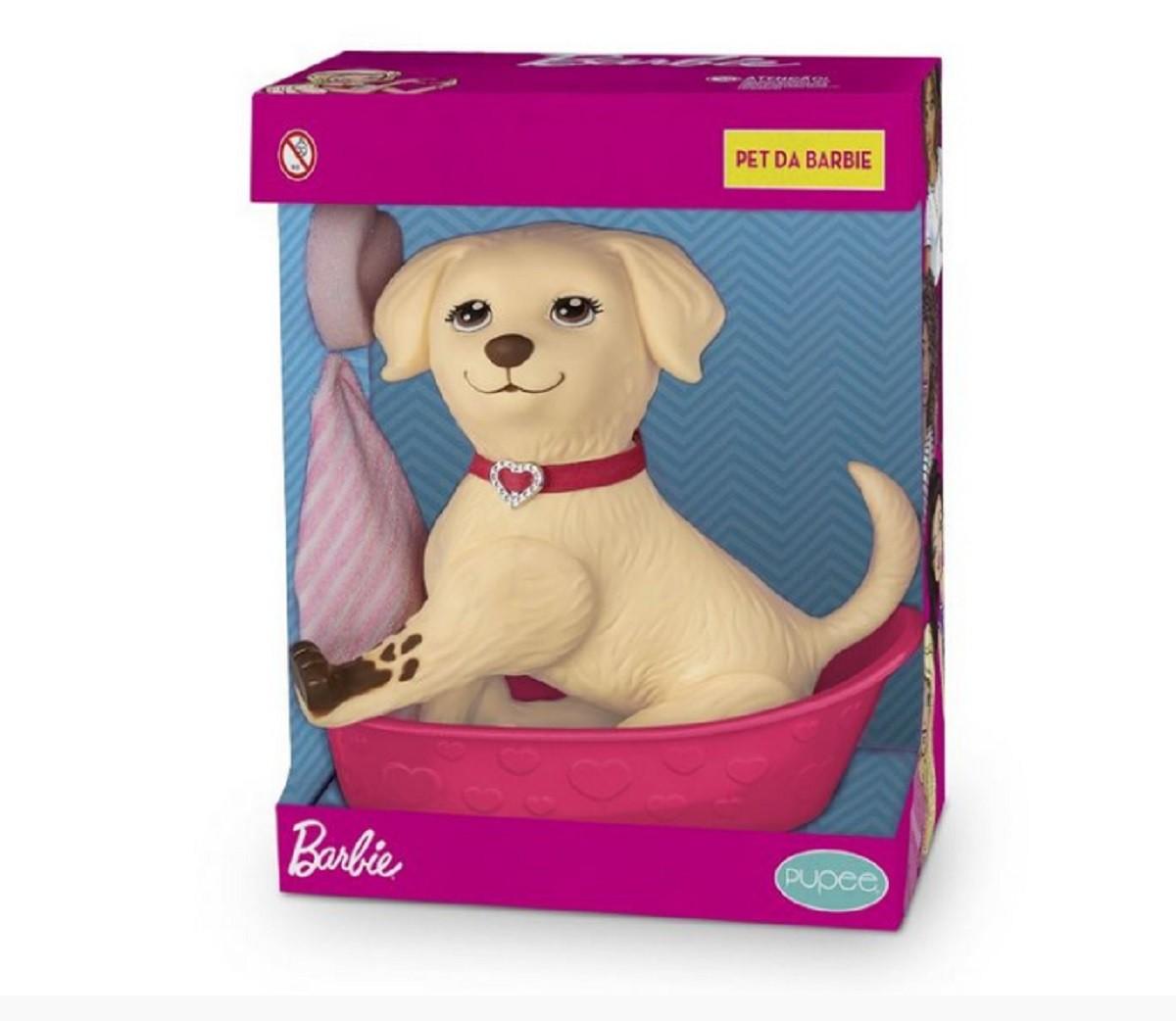 Pet Shop da Barbie Honey Cachorro 22cm Pupee 1257