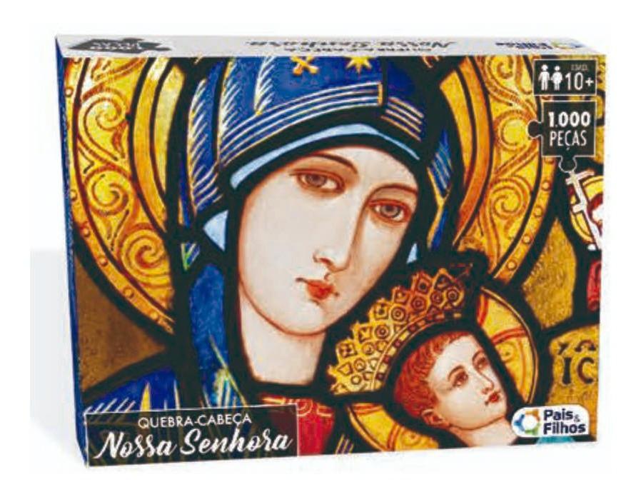 Puzzle Quebra Cabeça Nossa Senhora 1000 peças Pais & Filhos 0983