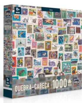 Quebra-cabeça 1000 Peças Coleções Selos Toyster