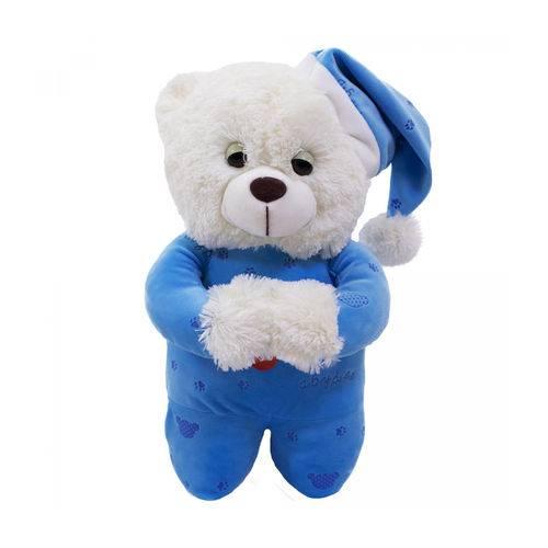 Urso Pelúcia Reza Pai Nosso 36cm Ajoelhado Fofy Toys cores sortidas