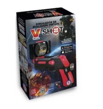 V-Shot Simulador de Realidade Virtual +33 Jogos Polibrinq