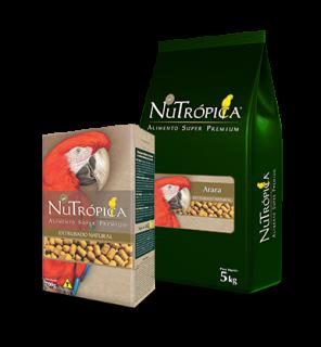 Alimento Extrusado Ração Nutrópica Arara natural 700g
