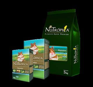 Alimento Extrusado Nutrópica Hamster 900g - Vence em 28/10
