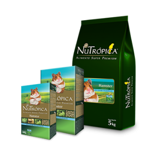 Alimento Extrusado Nutrópica Hamster 900g