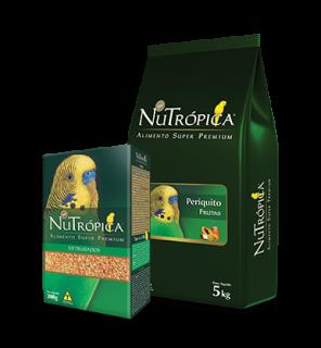 Alimento Extrusado Ração Nutrópica Periquito 300g