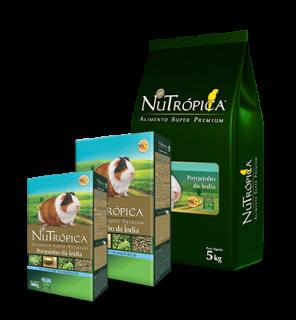 Alimento Extrusado Nutrópica Porquinho-da- Índia 500g