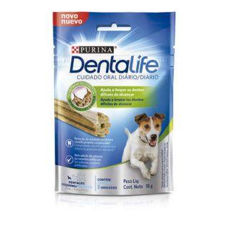 Dental Life Purina Petisco Snack para Cães Adulto Porte Pequeno