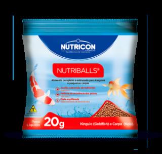 Kit c/ 20 sachês Nutricon Nutriballs 20g