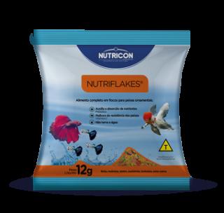 Kit c/ 30 sachês Nutricon Nutriflakes 12g
