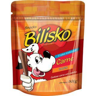 Kit Petisco Bilisko Carne 500g - 6 unidades