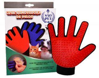 Luva Removedora de Pêlos Para Cães e Gatos