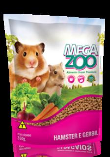 Ração para Hamster e Gerbil Megazoo 350g